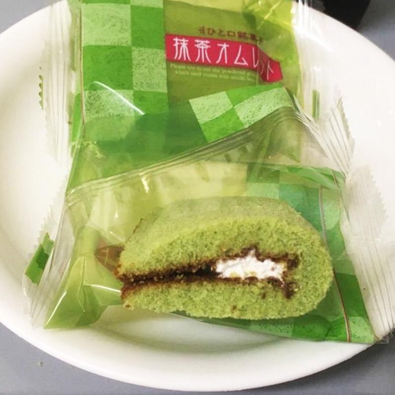 日本 日新堂 抹茶煎蛋捲 8件【市集世界 - 日本市集】