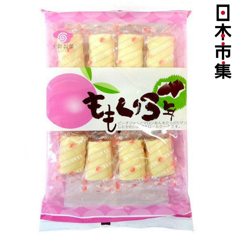 日本 大昇製果 香桃栗子蛋糕 12件【市集世界 - 日本市集】