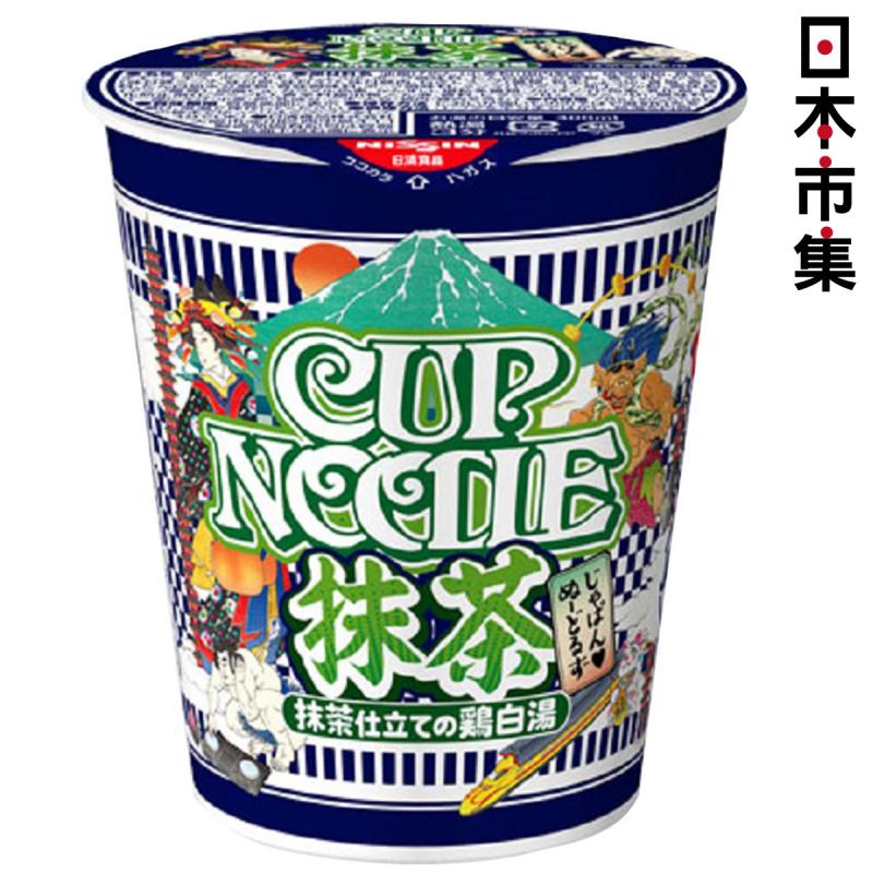 日版 日清合味道 抹茶雞白湯杯麵 78g【市集世界 - 日本市集】