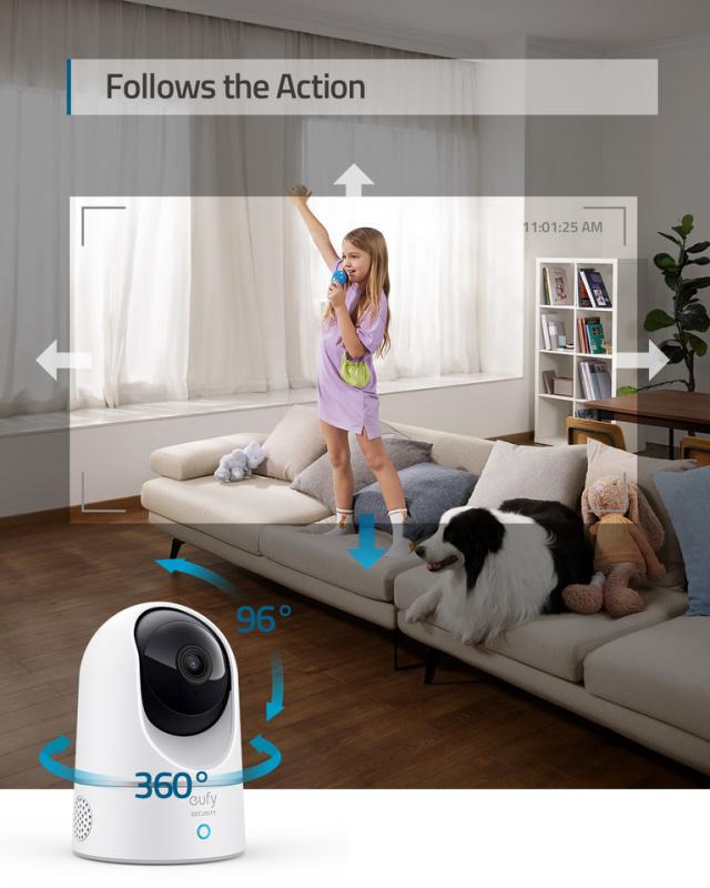 Anker Eufy Indoor Cam 2K Pan and Tilt