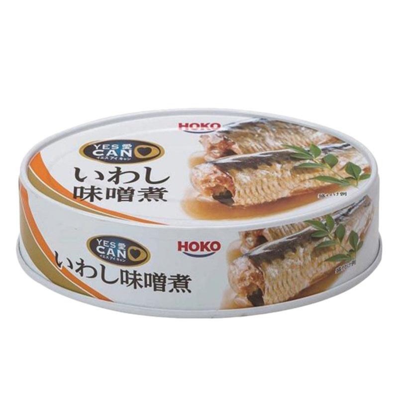 日版寶幸HOKO 罐頭【味噌煮】沙甸魚 100g (3件裝)【市集世界 - 日本市集】