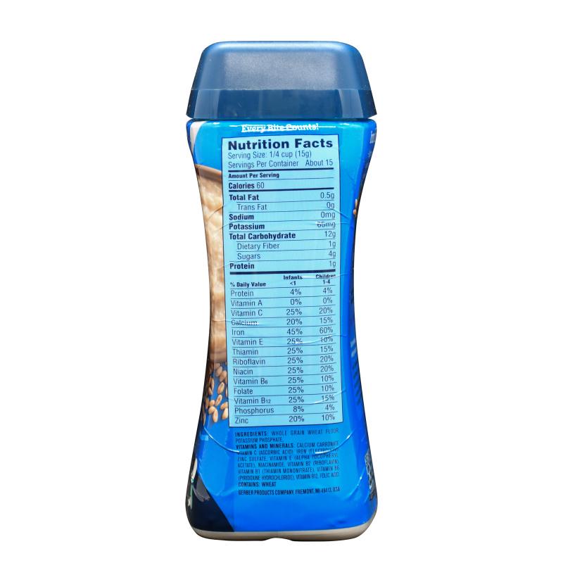 Gerber嘉寶 全麥穀物米粉 (227g)