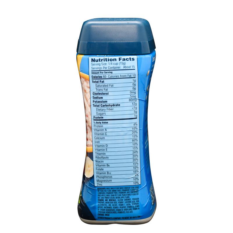 Gerber嘉寶 香蕉蘋果士多啤梨多穀物米糊 (227g)