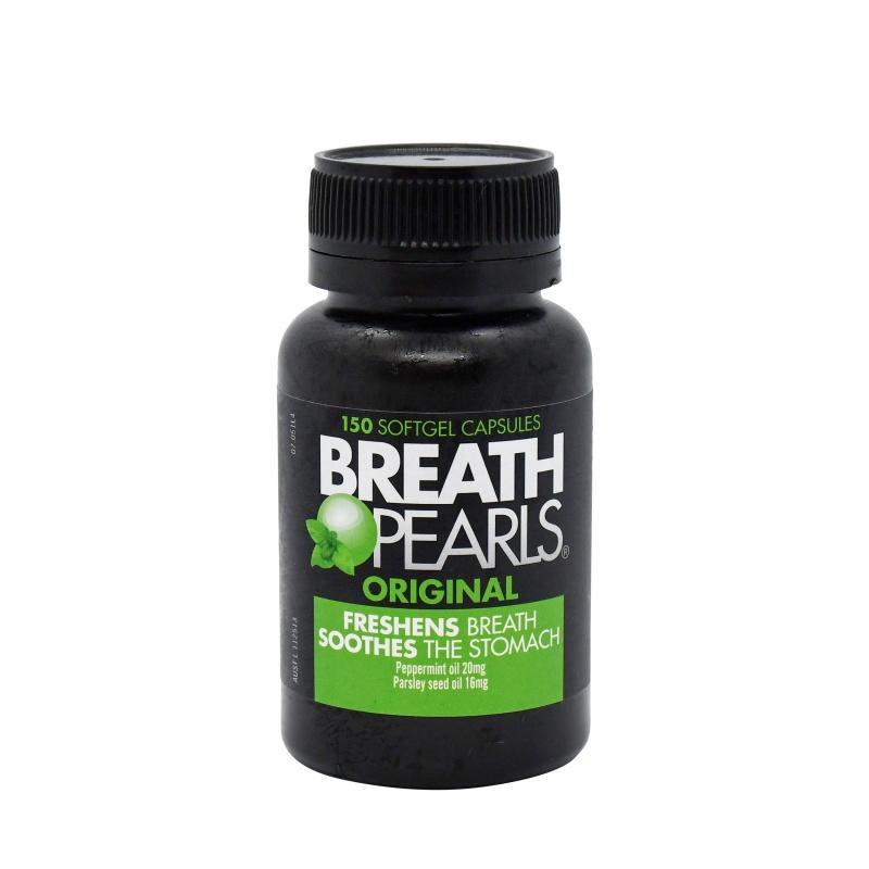 Breath Pearls 口氣清新膠囊 (150粒)