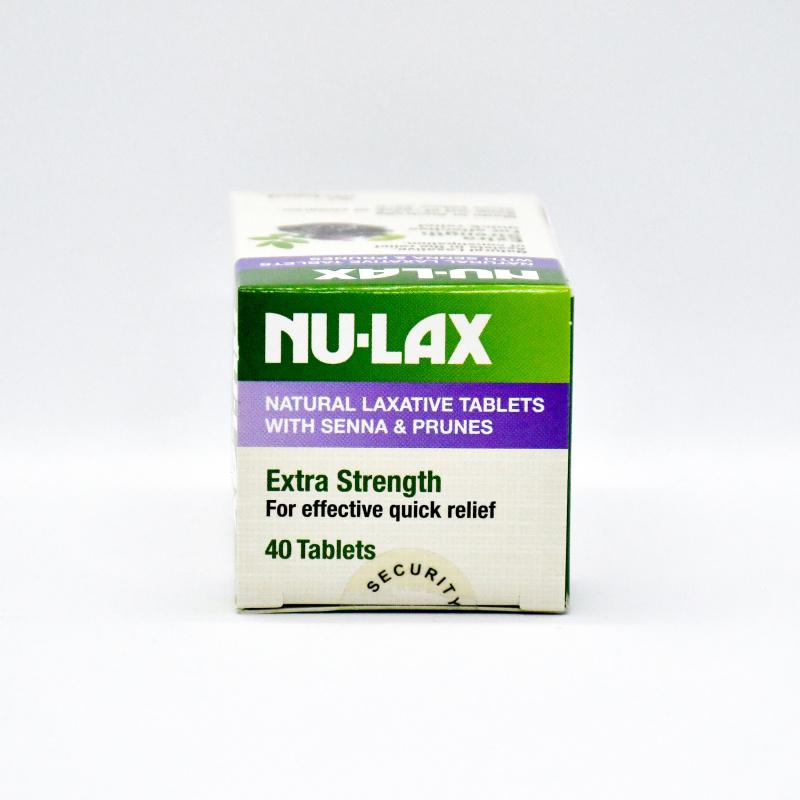 Nu-lax 樂康膏天然西梅加強版 (40粒)