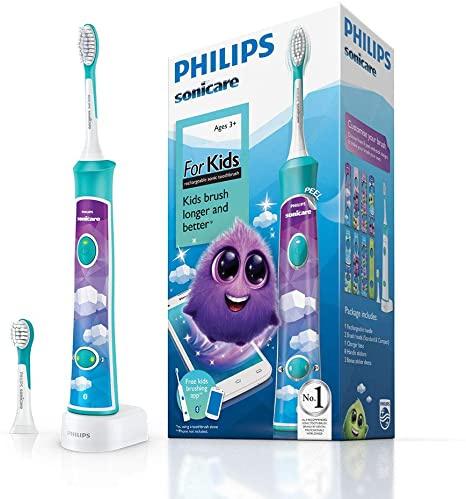 Philips 飛利浦 Sonicare For Kid 聲波震動牙刷HX6322