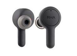 RHA TrueConnect Earbuds 真無線藍牙耳機 黑色 (送 iHome iBTW23 藍牙立體聲雙鬧鐘乙個)