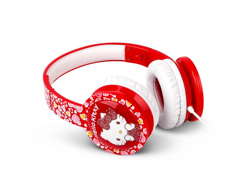 Sparrow Kids Blinking Kids Headphones KC05VL - Hello Kitty
