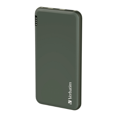 Verbatim 10000mAh PD & QC 3.0 流動充電池 - Green