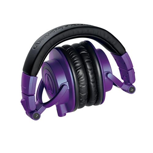 Audio Technica ATH-M50x PB 紫/黑混色限量特別版本