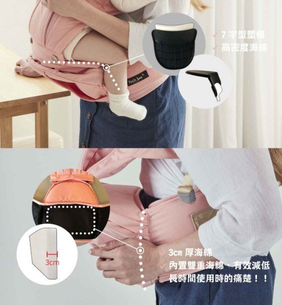 韓國 Petit Bee多功能腰櫈式 嬰兒揹帶👶🏻🤱🏻