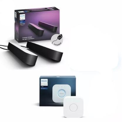 Philips Hue Bridge + Hue Play 玩轉情境燈箱超值精選套裝