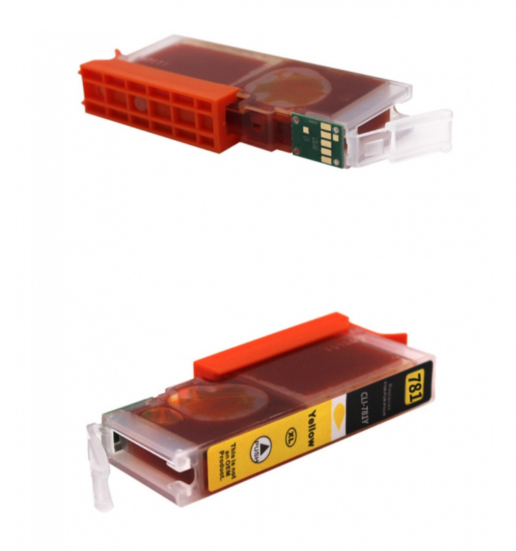 Canon 佳能 CLI-780XL,CLI-781XL,B C M Y 高容量優質代用墨水 Canon PIXMA TS6370,TS707,TS8170,TS8270,TS8570,TS9170,TS9570