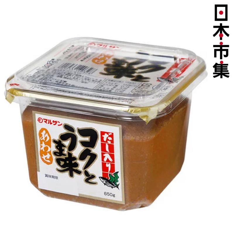 日版Marusan 鰹魚昆布海帶味噌麵豉 (濃郁) 650g【市集世界 - 日本市集】