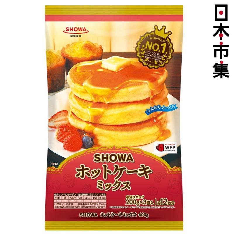 日版 昭和產業 No.1 熱香餅 預拌班戟粉 200g x3包【市集世界 - 日本市集】