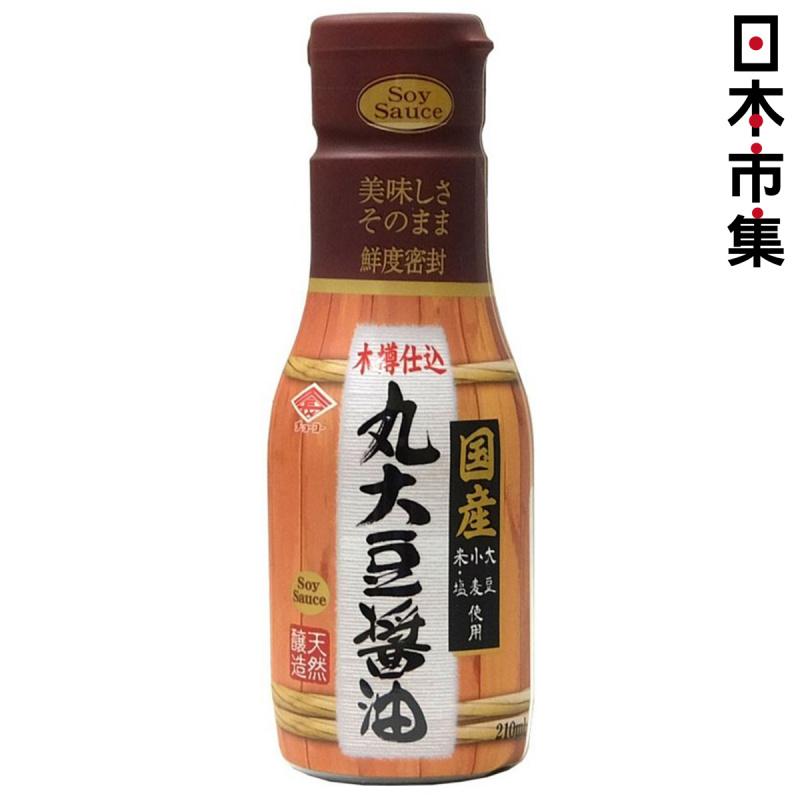 日本【チョーコー】木桶釀製 日本產大豆 頂級醬油 210ml【市集世界 - 日本市集】