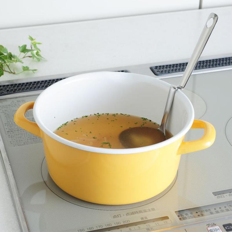 日本Arnest 不鏽鋼N型掛鍋邊湯勺【市集世界 - 日本市集】