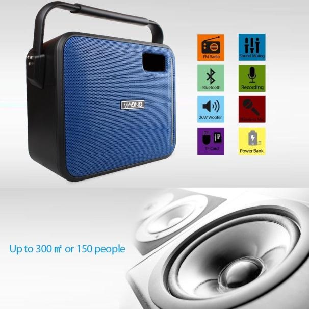 Maono AU-C04H UHF 30W Wireless Microphone and Speaker🎶🔊🎙