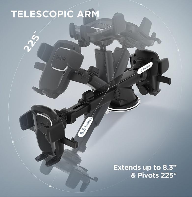 iOttie Easy One Touch 4 單手操控可延長支架汽車電話座