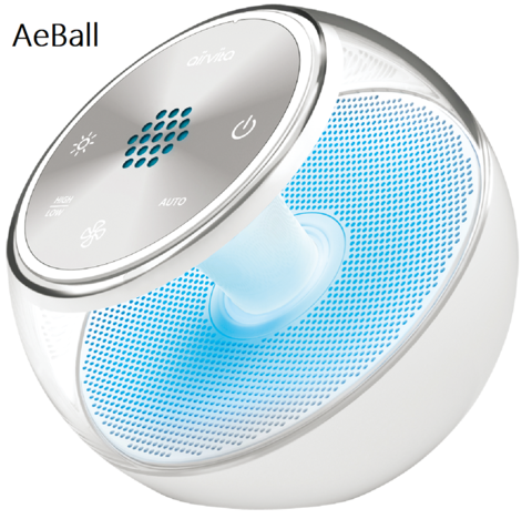 香港行貨 一年保養 現貨 AirVita AeBall 無線負離子空氣淨化機 (頂級版)