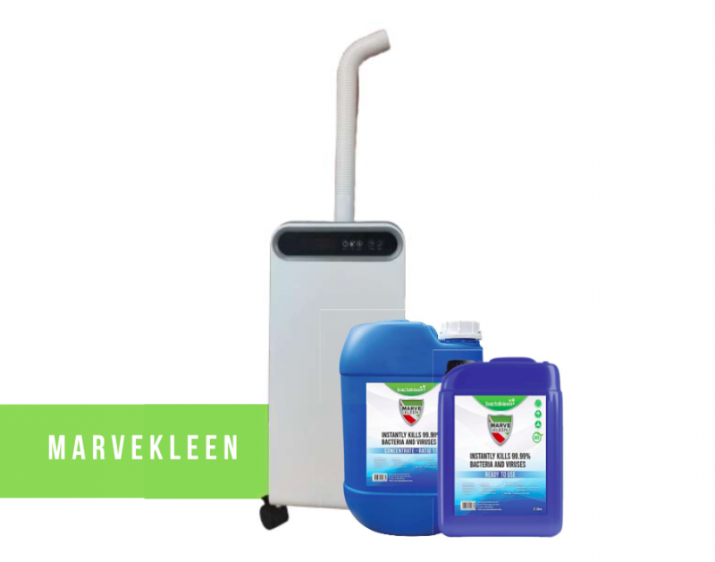 MVK-1 空氣消毒機 連 Marvekleen 消毒液 1升裝
