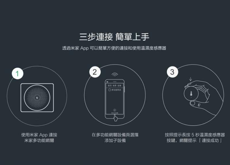 米家溫濕度感應器
