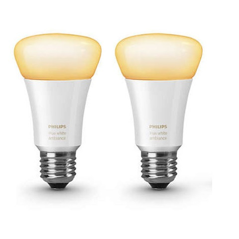 Philips Hue E27螺頭智能燈膽2件超值優惠裝
