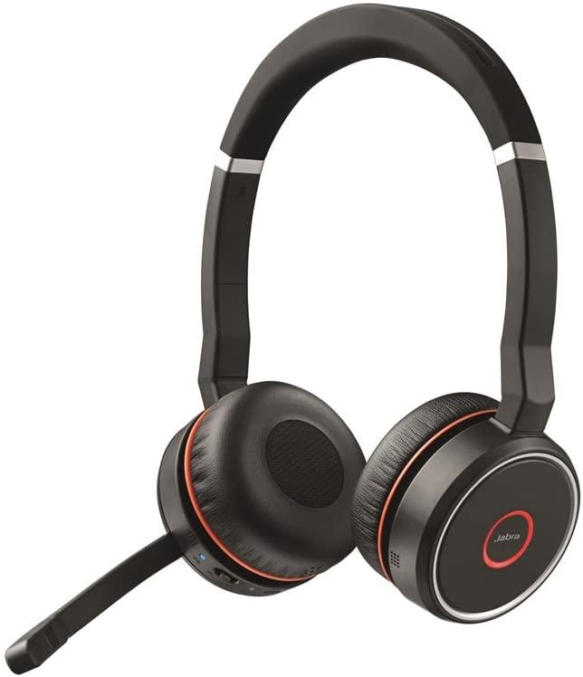 Jabra Evolve 75 Stereo MS or UC, incl. Link 370 頭戴式耳機