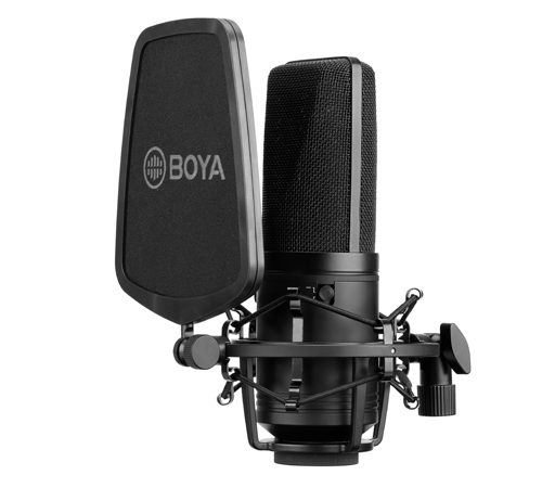 "BOYA 34mm (1.3"") Diaphragm Condenser Microphone BY-M1000"
