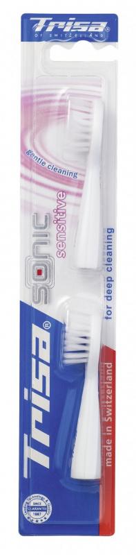 Trisa replacement set Sonic Duo 專業聲波電動牙刷刷頭替換裝