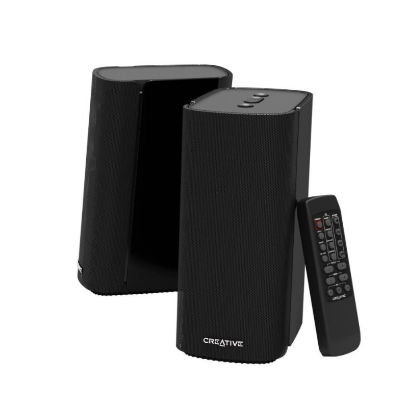 Creative Compact Hi-Fi 2.0 Desktop Speakers T100