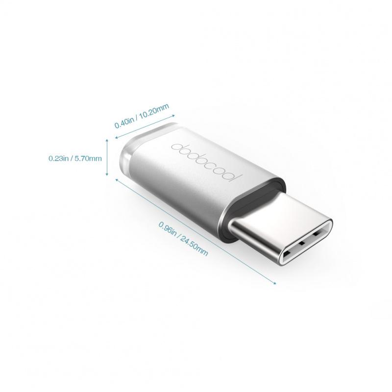 dodocool DA71 USB-C轉Micro-USB適配器