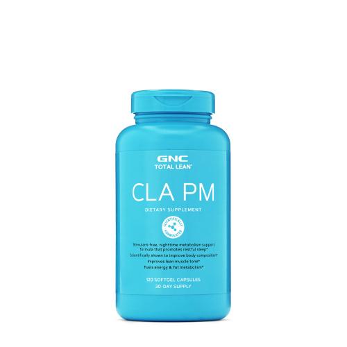 GNC CLA PM 共軛亞麻油酸 晚間增加瘦肌肉比例配方 [120粒]