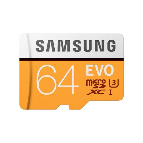 Samsung 64GB EVO MicroSDXC UHS-I Class 10 記憶咭
