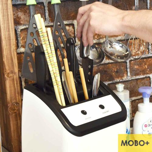 Thanko UV除菌乾燥功能性廚具收納座I
