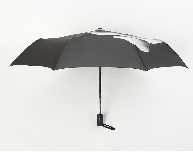 """""""舉中指""""自動伸縮雨傘UMBRELLA"""