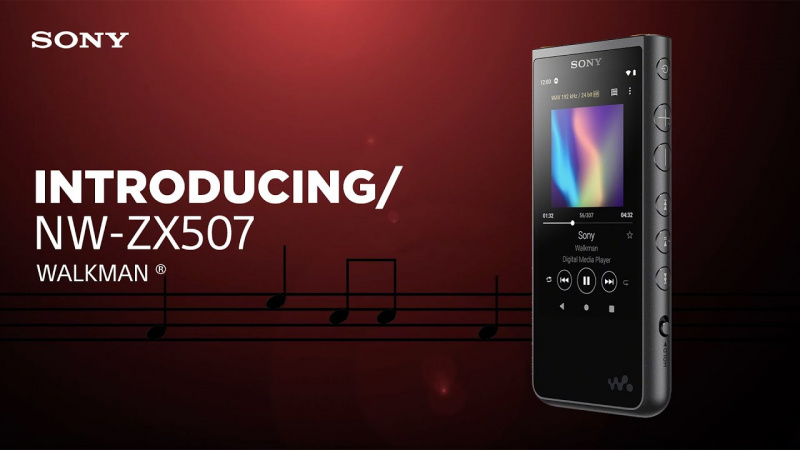 Sony NW-ZX507 MP3 🎧播放器🎶 [2色]