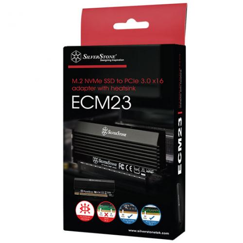 SST-ECM23 PCIe 3.0 x16 NVMe SSD interface (M key)