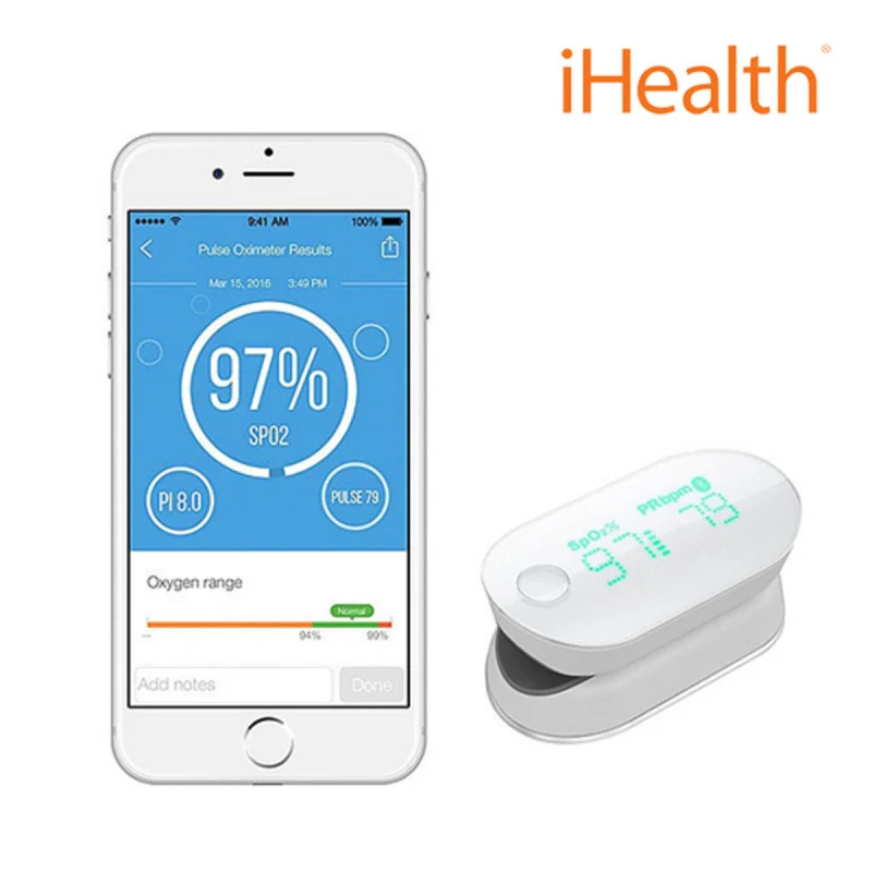 iHealth Air 智能藍牙脈搏血氧計 (PO3M)
