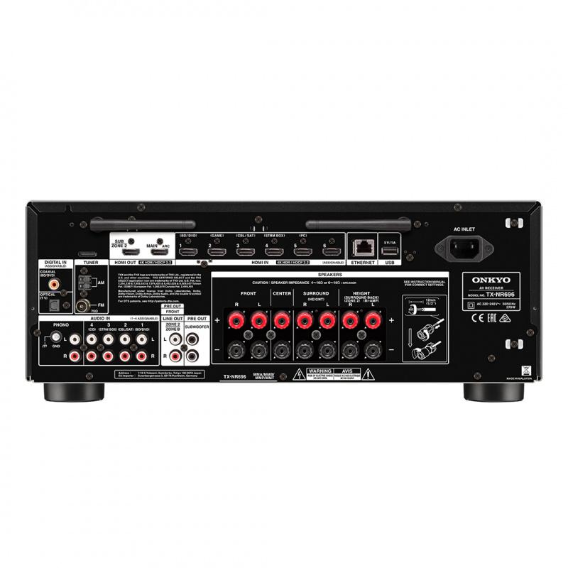 Onkyo TX-NR696 7.2聲道網絡影音擴音機