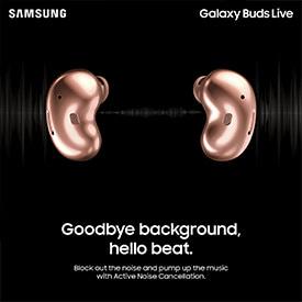 Samsung Galaxy Buds Live 真無線降噪耳機🎶🎧