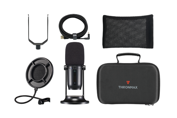 Thronmax MDrill One Pro Studio Kit 96kHz 24Bit 四模式多平台 USB 收音咪套裝