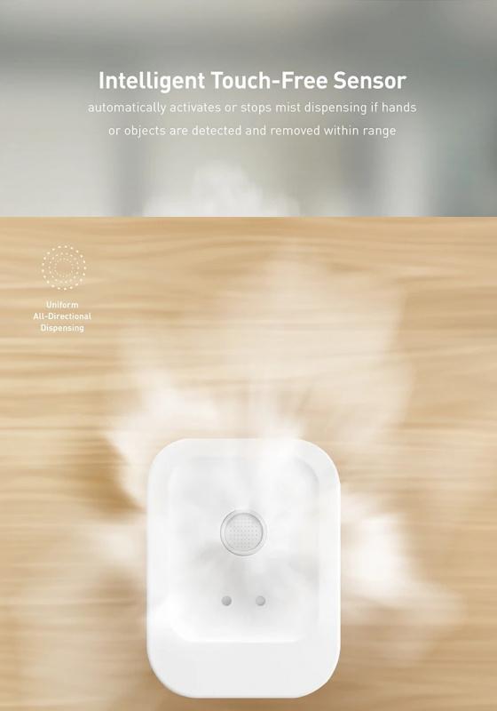 LYFRO Flow Smart Sanitizing Mist Dispenser