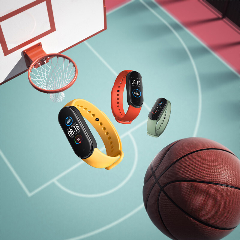 小米 - 小米手環5 動態彩屏女性健康24小時心率監測磁吸式充電(平行進口)