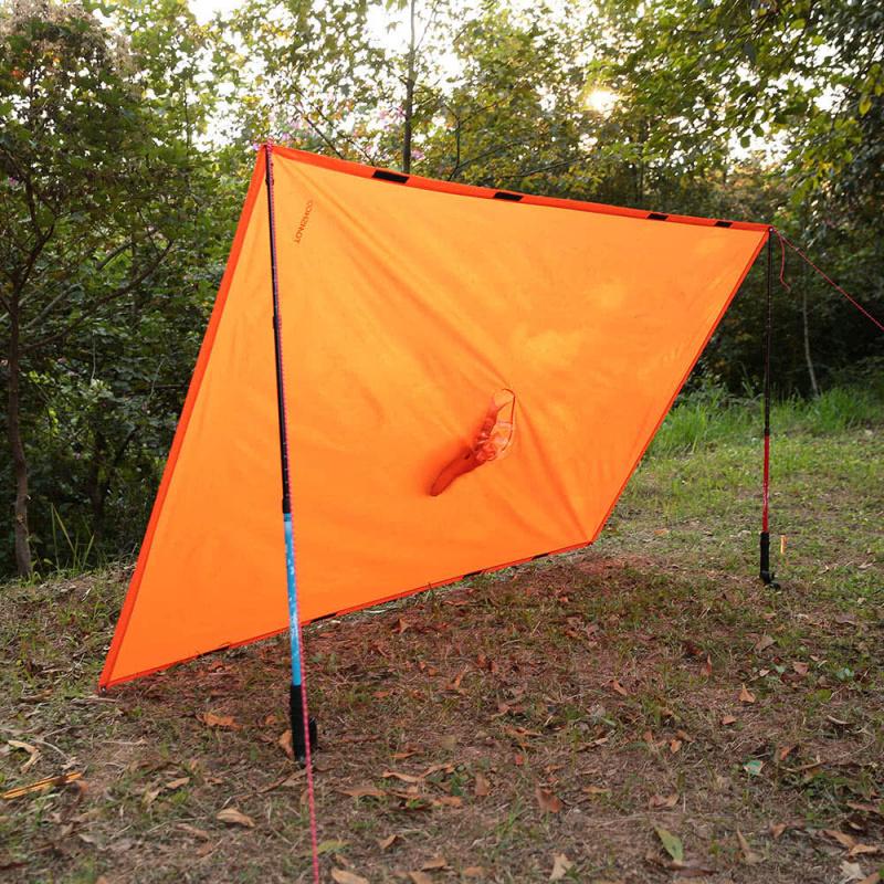 Tomshoo Y4143 防水可打包雨衣戶外露營帳篷墊