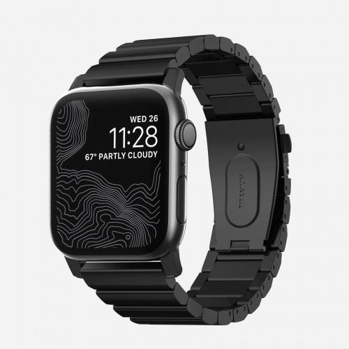 NOMAD - Titanium Band 鋼錶帶 ( 適用於 42/44mm Apple Watch )