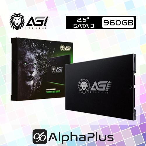 """AGI AI238 2.5"""" SATA 3 SSD 960GB"""