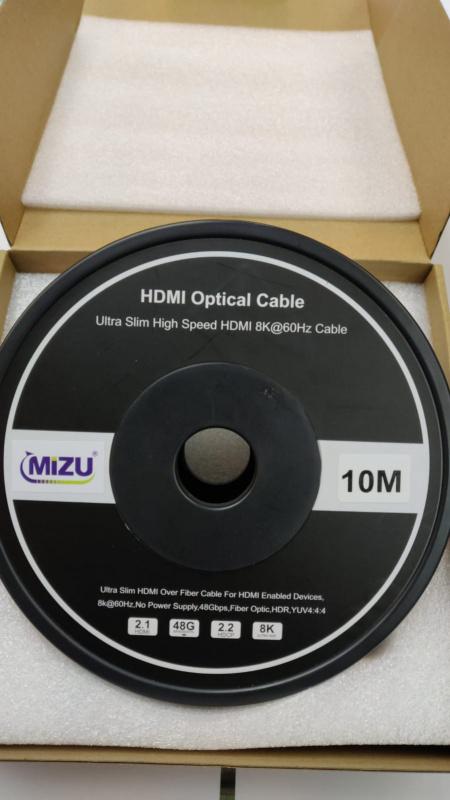 MIZU 10米 4K@60Hz 可穿喉光纖 HDMI 線 (87-43-0010)