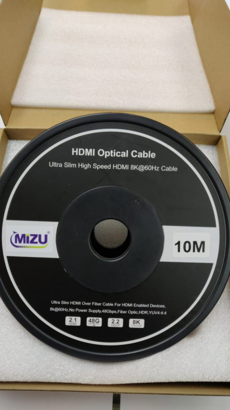MIZU 10米 4K60Hz Aromed 光纖 HDMI 線 (87-43-2010)