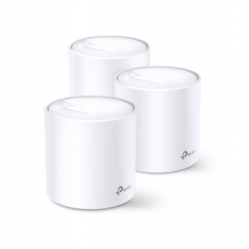 TP-Link DECO X20-3 Whole-Home Wireless-AX1800 Mesh Wi-Fi System (3pcs Pack)
